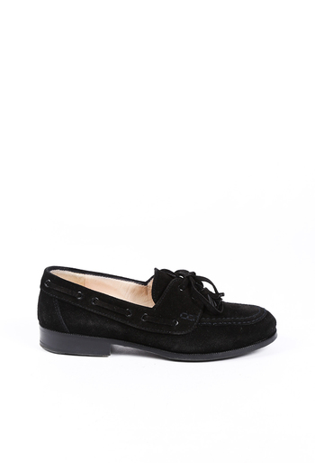 Chanel Suede Tassel Loafers
