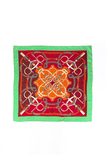 Eperon d'or Silk Scarf