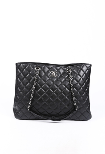 Easy Quilted Caviar CC Tote Bag