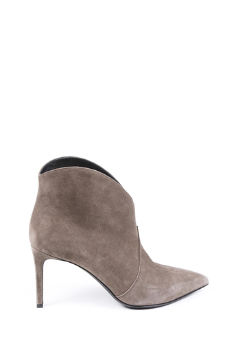 Paris 105 Suede Pointed Booties