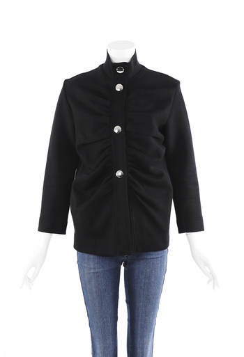 Ruched Cotton Jacket
